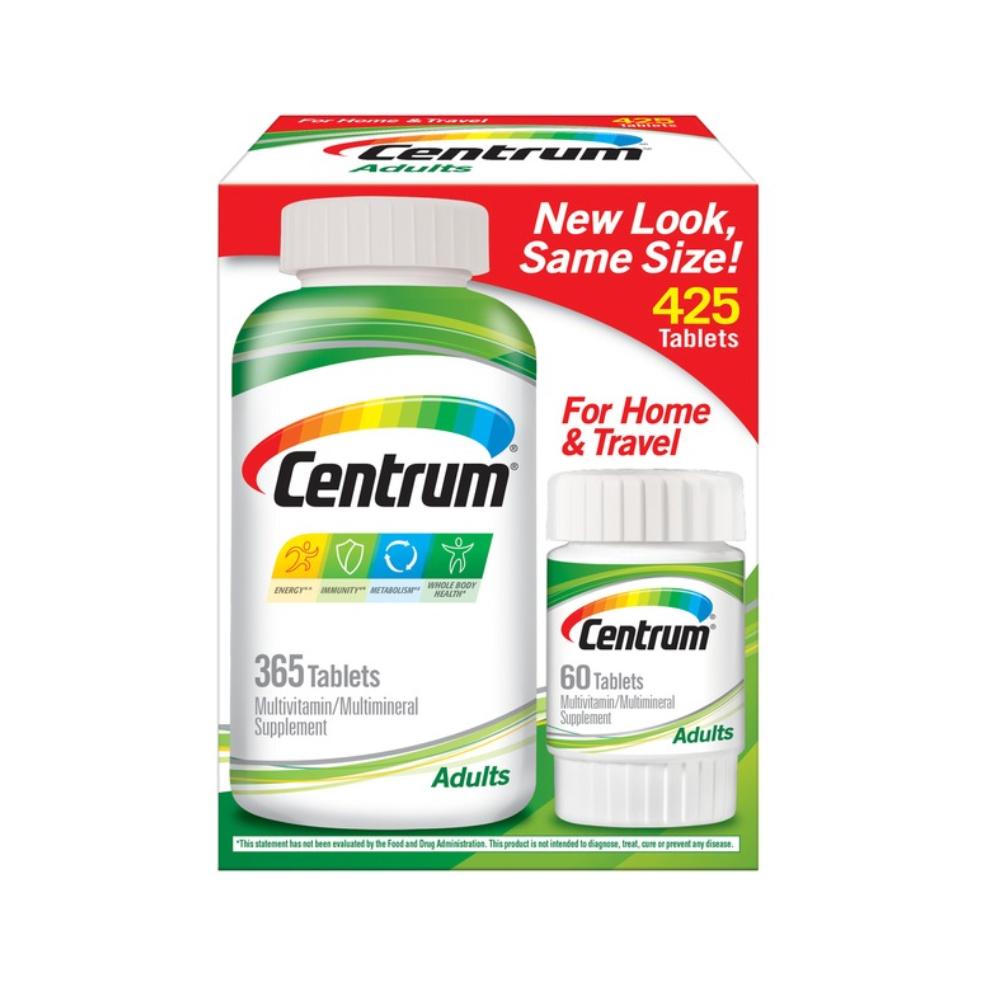 CENTRUM 센트룸 어른 멀티비타민 425캡슐