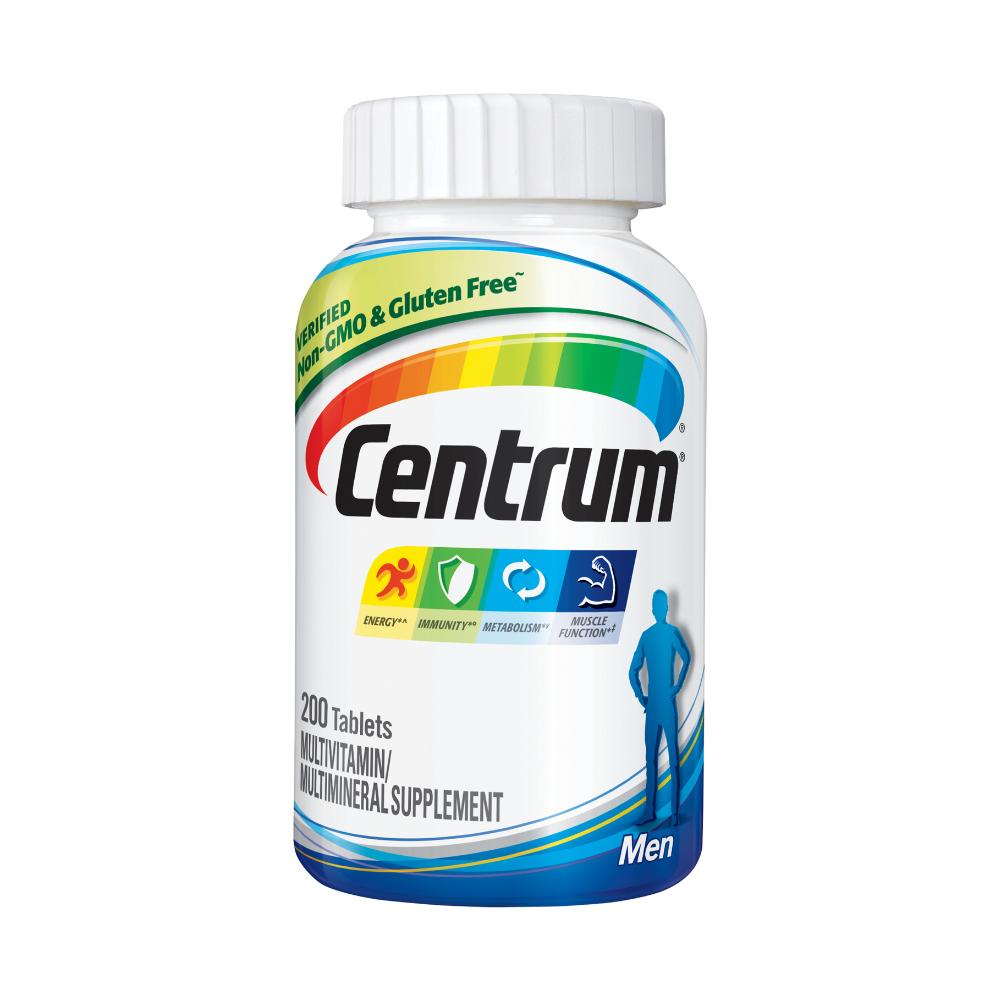 CENTRUM 센트룸 남성 멀티비타민 200캡슐