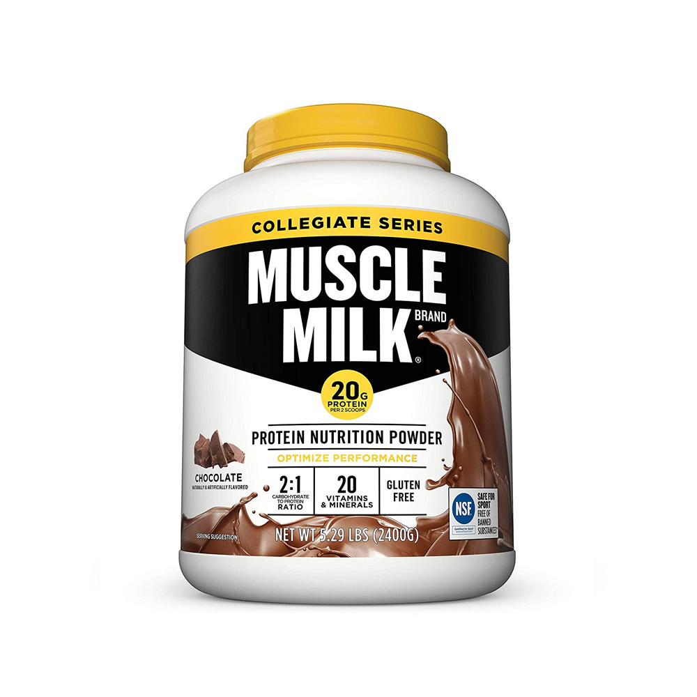 CytoSport Muscle Milk Collegiate 머슬 밀크 컬리지에이트 Chocolate 5.39lb