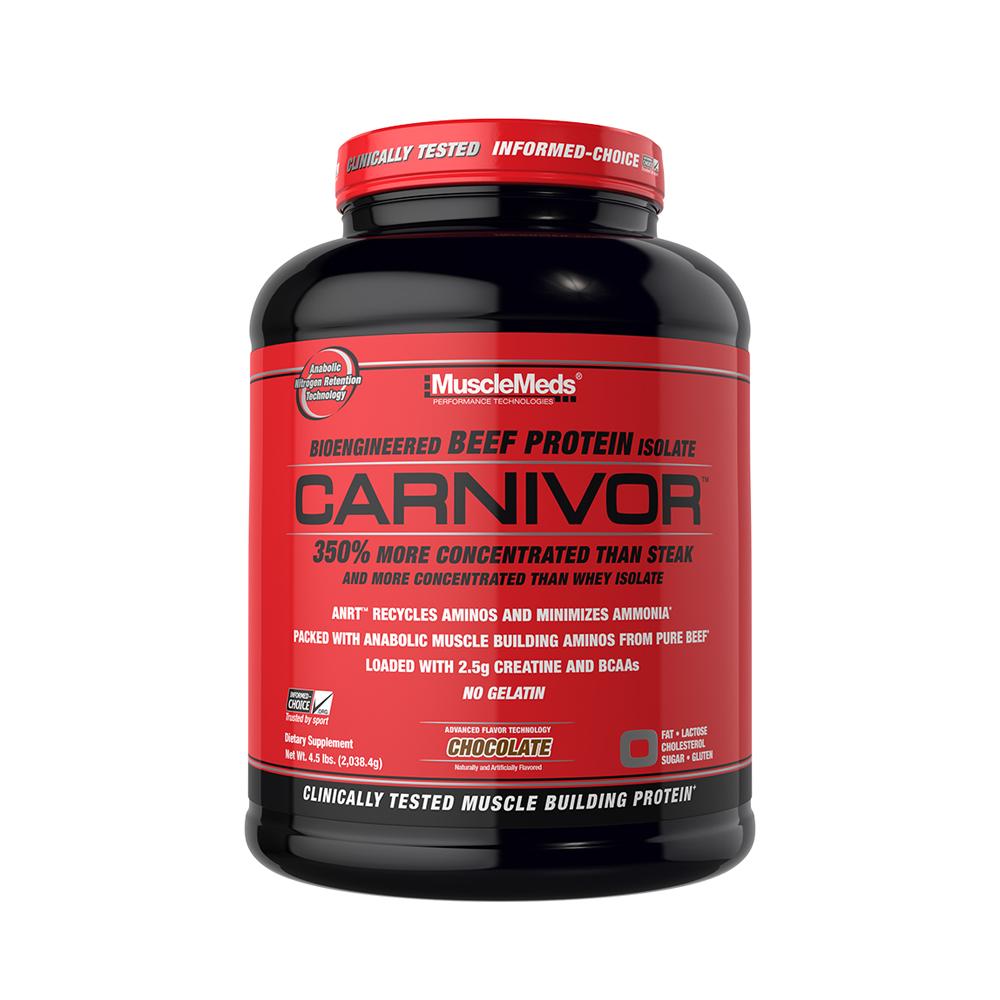 MuscleMeds 머슬매드 카니버 비프 프로틴 Carnivor 4.5lb