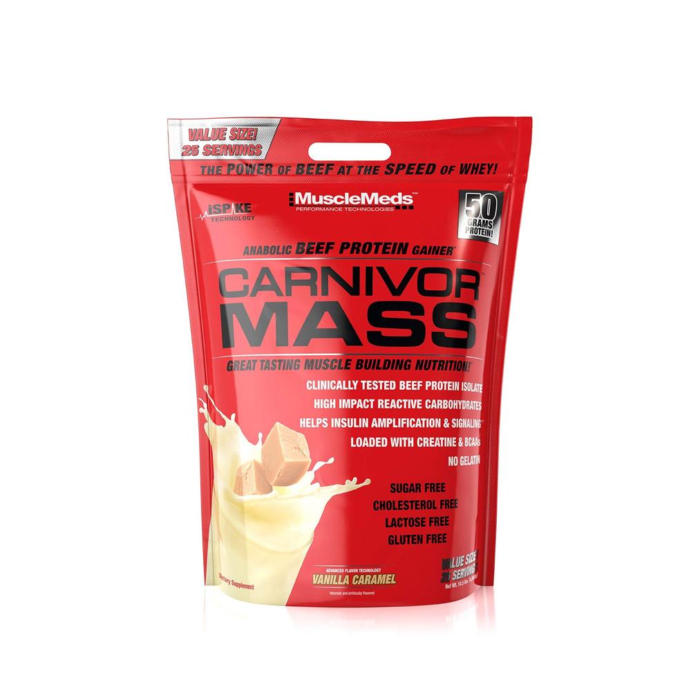 MuscleMeds 머슬매드 카니버 매스 게이너 Carnivor Mass 10lb
