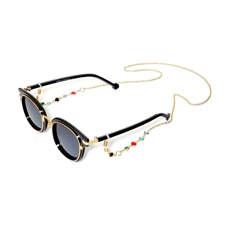 CareFree SUNStrap 100 패션체인 선글라스안경줄 골드