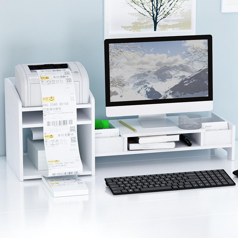 컴퓨터 모니터 받침대 MS-001 책상 정리 모니터 선반