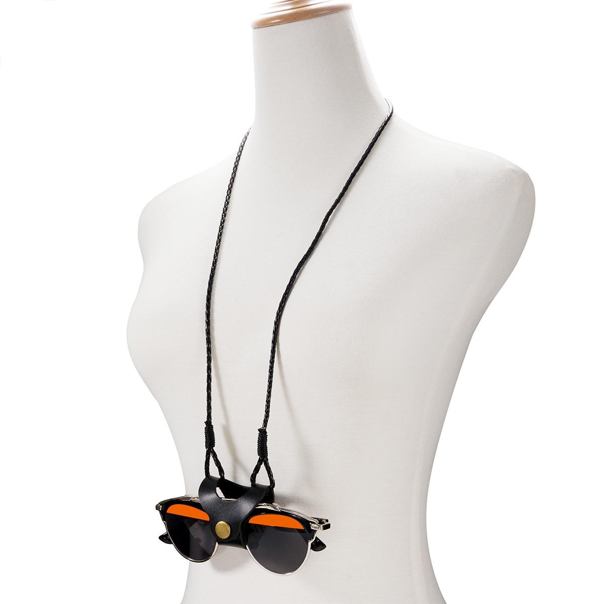 안경목걸이 SUNStrap N-75 패션 가죽 선글라스 안경줄