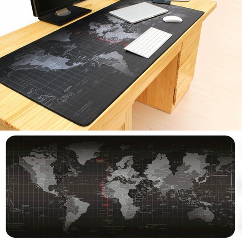 세계지도 책상 깔판 게이밍 마우스패드 CareFree MP-600 데스크패드