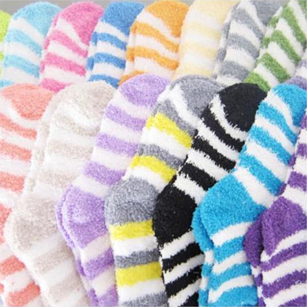[현재분류명],(30개묶음)수면양말 파스텔톤 단색 줄무늬 색상랜덤,KC,성인용,수면양말,줄무늬수면양말,개별텍
