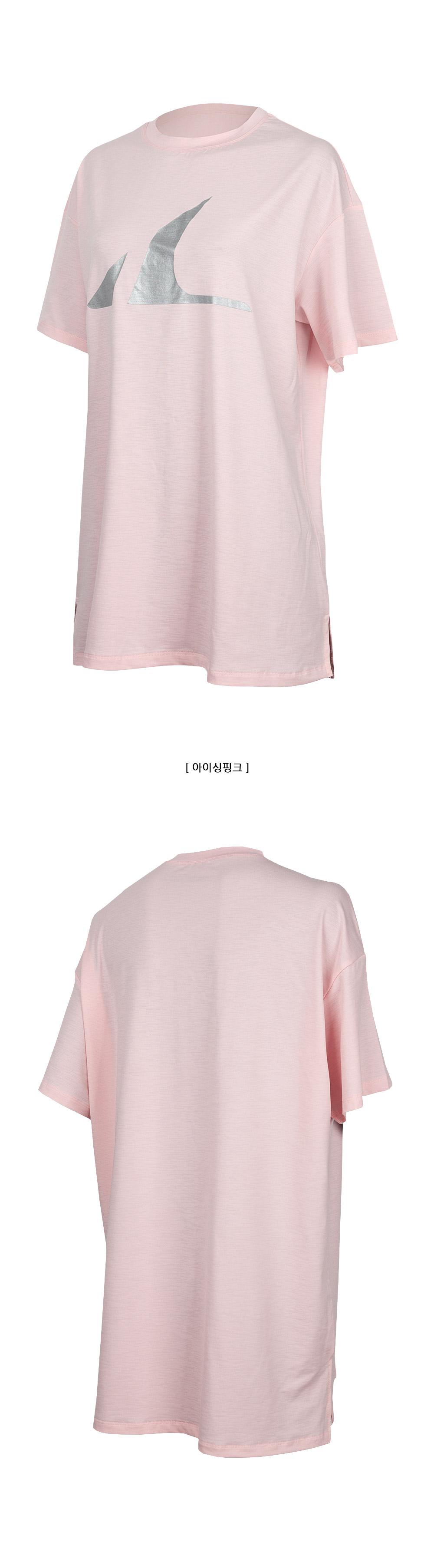 애슬리트(ATHLETE) Y존&힙커버 슈퍼쿨링 오버핏 HRT14 선데이 티셔츠