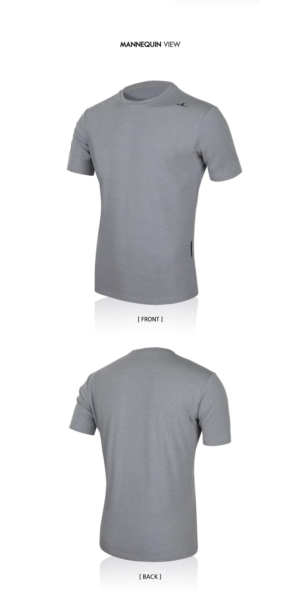 애슬리트(ATHLETE) 남성 고탄력 기능성 스포츠 티셔츠 KOT03 바름 반팔 티셔츠