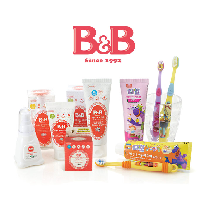 [ B&B ] Toothbrush for Kids(2 stage)