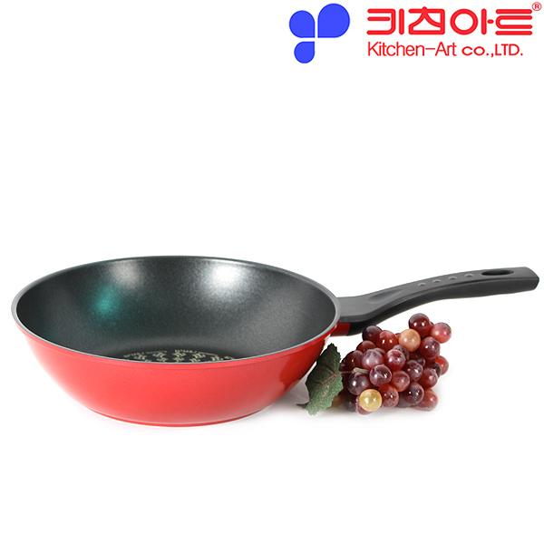 키친아트 AZ 다이아몬드코팅 궁중팬 28CM