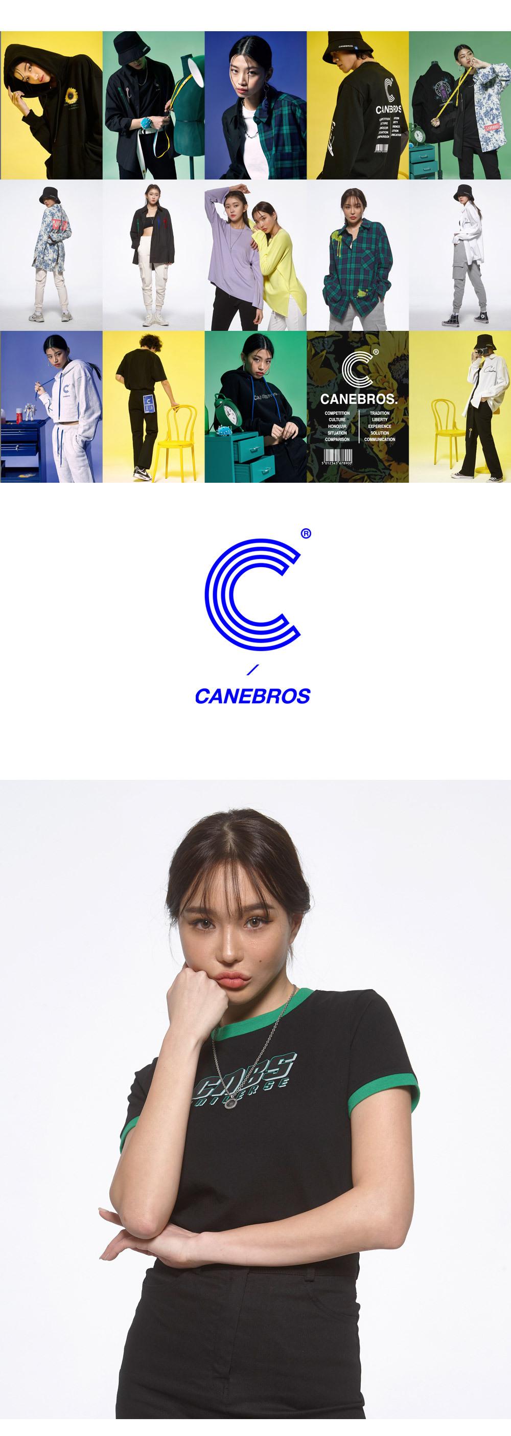 카네브로스 (CB) 유니버스 크롭티_BK
