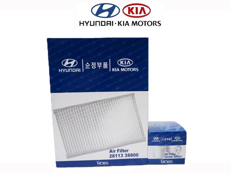 Hyundai 2013 Yf Sonata Genuine Oil Filter   Cabin Air