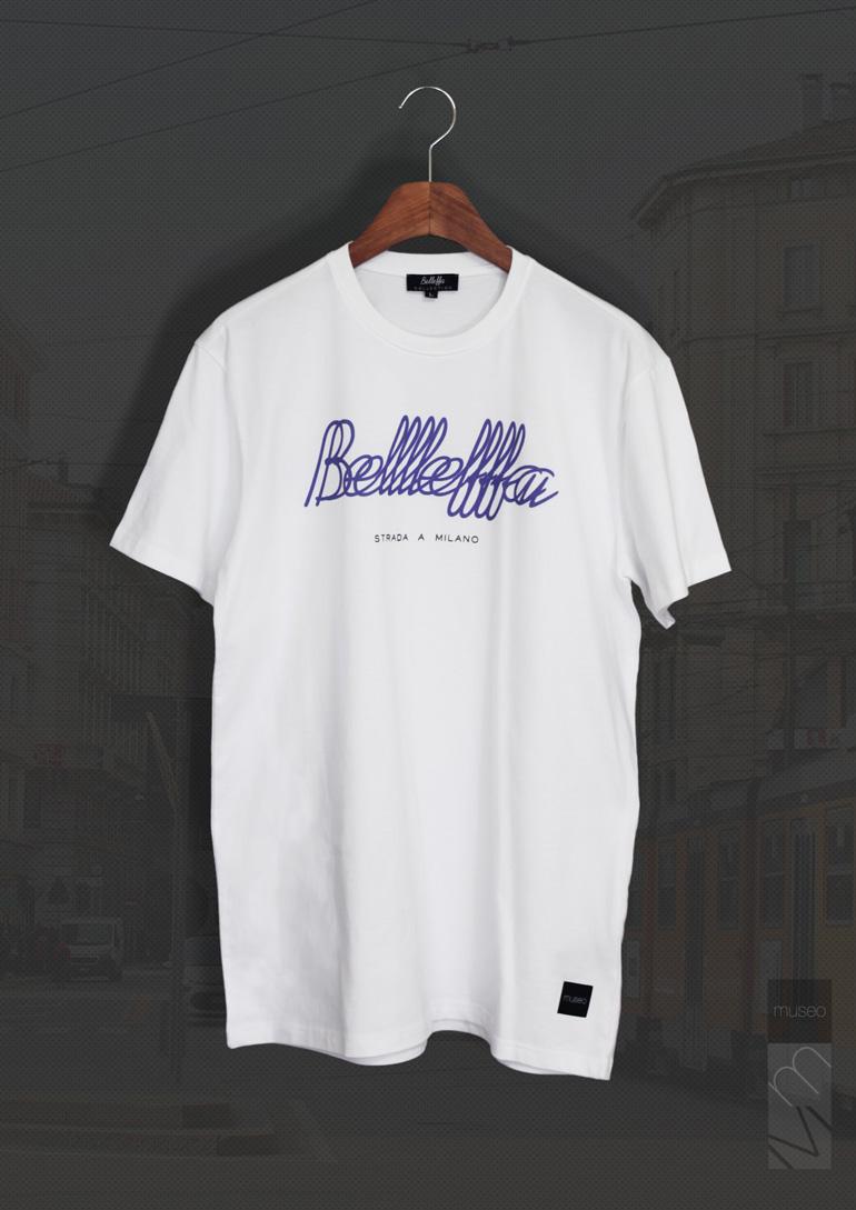 Belleffa Overlap (벨레파 로고티) - 무제오, 57,000원, 스트릿패션, 디자인반팔티셔츠