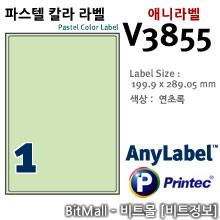 애니라벨 V3855 (파스텔칼라라벨 G1칸) - 8805806038552