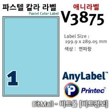 애니라벨 V3875 (파스텔칼라라벨 B1칸) - 8805806038750