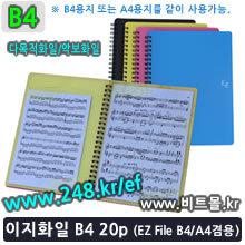 이지화일 B4 20 (Ez File 20p / B4/A4겸용)