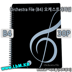 오케스트라화일30 (Orchestra File 30p/B4) - 수퍼화일B4 30 (Super File 30p/B4) - 8809132070477