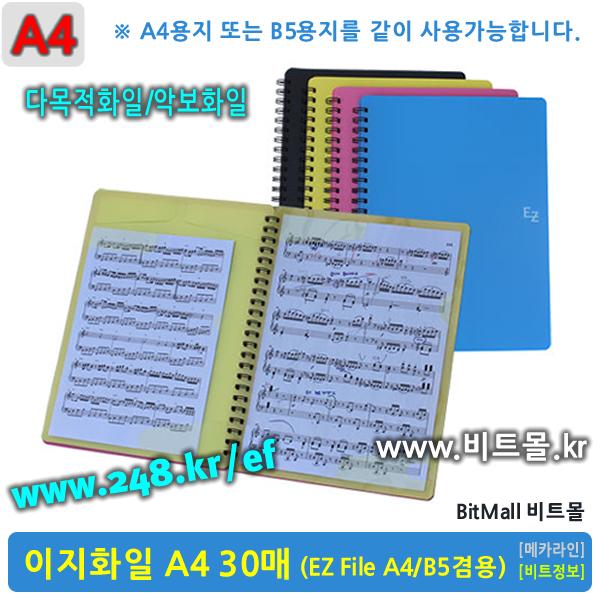 이지화일 30 (EZ File 30p/A4)
