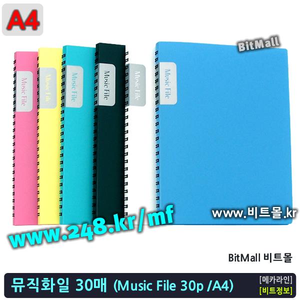 뮤직화일30 - Music File A4 / 30p