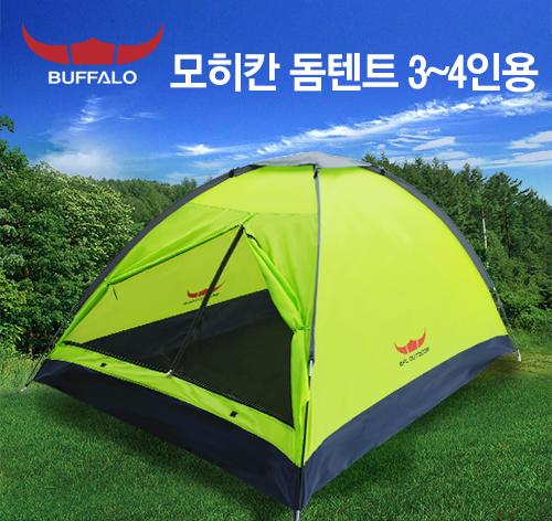 버팔로  모히칸 돔텐트 4인용 Green TE1402-1