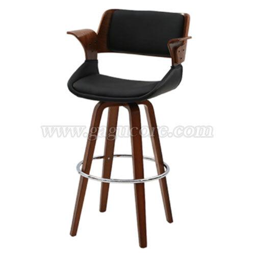 럭스빠텐(회전)(업소용의자, 카페의자, 인테리어체어, 바의자, 바테이블의자, 목재빠체어, 회전빠체어)