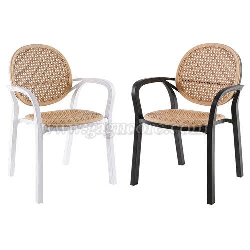 마리아암체어(업소용의자, 카페의자, 인테리어의자, 레스토랑체어, 플라스틱체어, 사출의자)