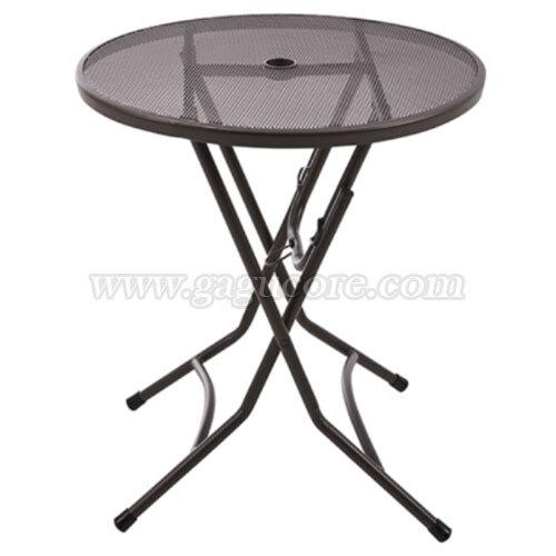 접이식망탁자(원형)(업소용테이블, 카페테이블, 야외테이블, 아웃도어테이블, 인테리어테이블, 접의식망탁자)