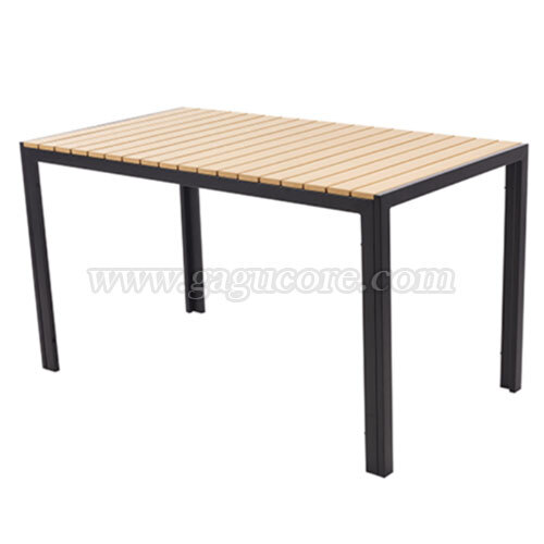 합성수지목테이블1300*700(업소용테이블, 카페테이블, 야외테이블, 인테리어테이블, 아웃도어테이블)