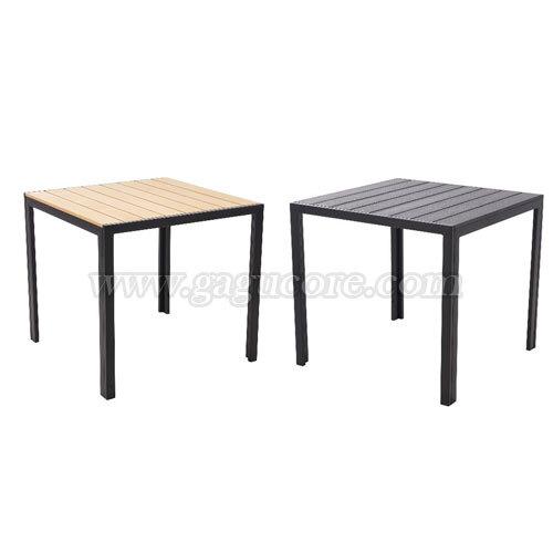 합성수지목테이블800(업소용테이블, 카페테이블, 야외테이블, 인테리어테이블, 아웃도어테이블)