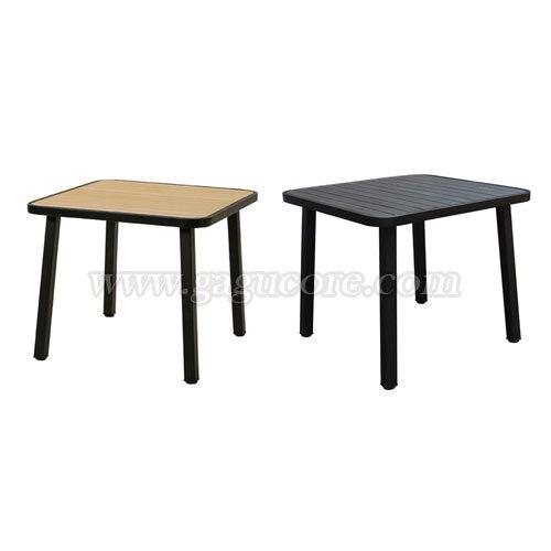 합성수지목테이블850(업소용테이블, 카페테이블, 야외테이블, 인테리어테이블, 아웃도어테이블)