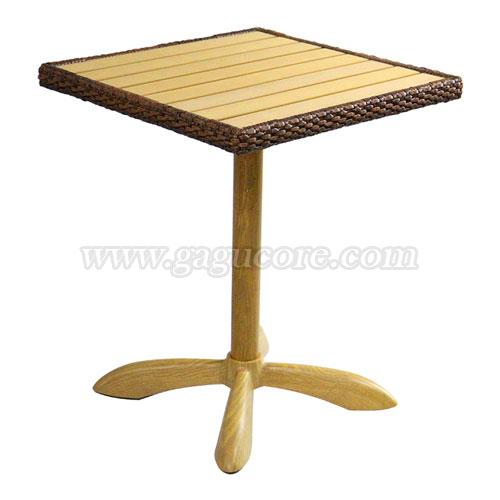 합성수지목테이블600/670(업소용테이블, 카페테이블, 야외테이블, 인테리어테이블, 아웃도어테이블)