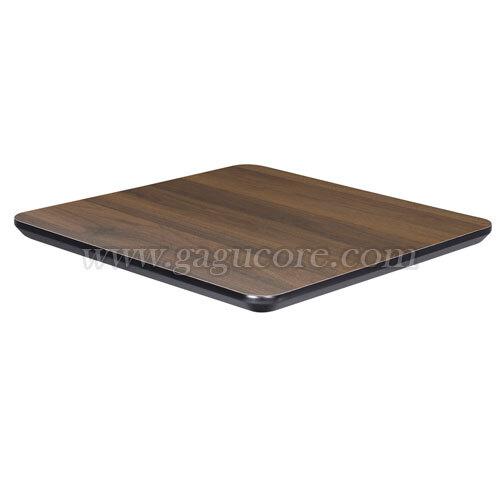 폴리카보네이트멀바우상판(사각)(업소용테이블, 카페테이블, 인테리어테이블, 목재테이블, 테이블상판, 사각테이블)