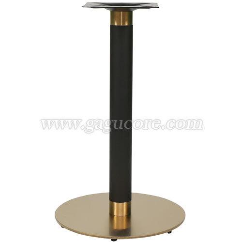 골드라인원반다리(업소용테이블, 카페테이블, 인테리어테이블, 테이블다리, 골드다리)
