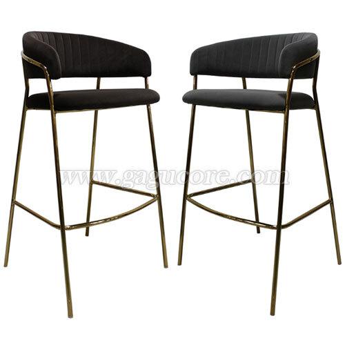 루비빠체어(바의자, 바테이블의자, 철재의자, 스틸체어, 카페의자, 레스토랑의자, 골드체어)