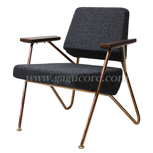 이글체어(로즈골드)(업소용의자, 카페의자, 철재의자, 스틸체어, 인테리어의자, 레스토랑체어)
