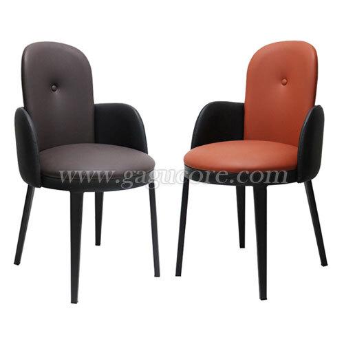프린스체어(라운드)(업소용의자, 카페의자, 철재의자, 스틸체어, 인테리어의자, 레스토랑체어)