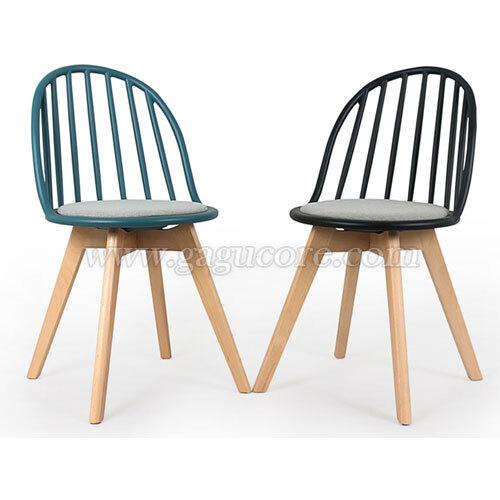 빗살체어(업소용의자, 카페의자, 인테리어의자, 사출의자, 플라스틱체어)