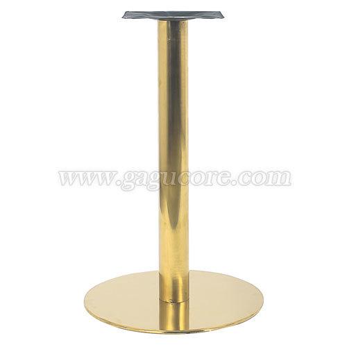 원반 부스강다리(금색)(업소용의자, 카페의자, 인테리어체어, 테이블다리)
