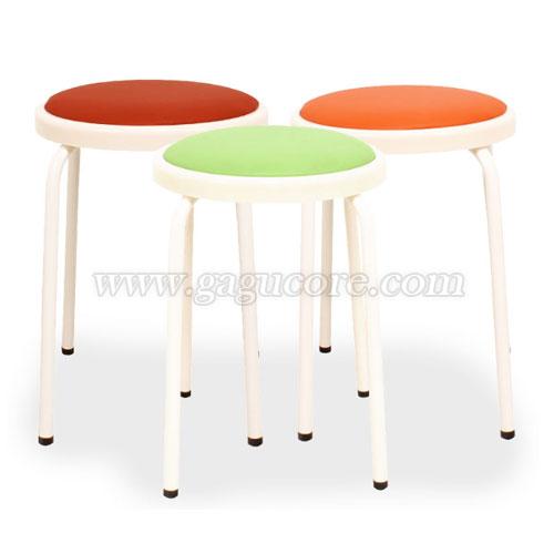 크림의자(업소용의자, 카페의자, 보조의자, 스툴, 인테리어의자)
