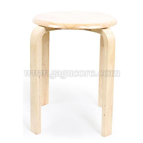 목재원형의자(업소용의자, 카페의자, 보조의자, 스툴, 인테리어의자)