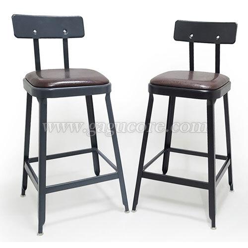 스타리스빠체어(바의자, 바테이블의자, 인테리어바체어, 업소용의자, 카페의자, 스틸체어)
