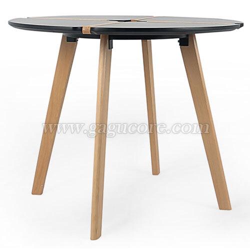퍼즐테이블(카페테이블, 업소용테이블, 인테리어테이블, 원형테이블)