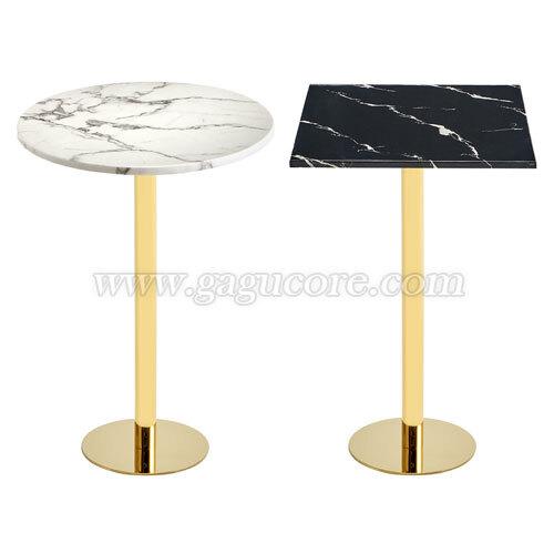골드라인빠테이블(마블)(업소용테이블, 카페테이블, 인테리어테이블, 레스토랑테이블, T902테이블)