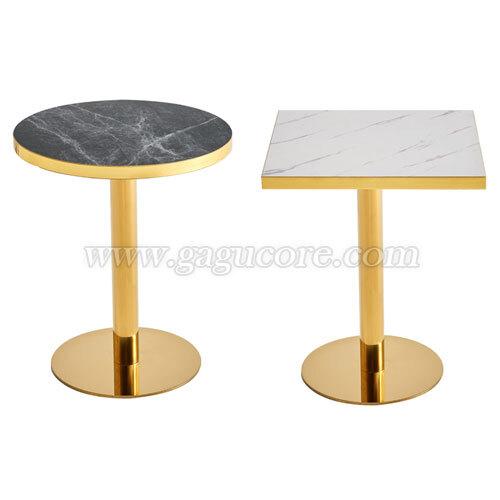 골드라인테이블(골드링)(업소용테이블, 카페테이블, 인테리어테이블, 레스토랑테이블, T033테이블)