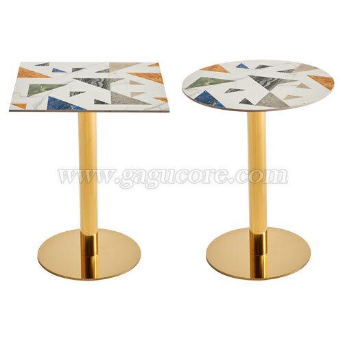 골드라인테이블(세라믹)(업소용테이블, 카페테이블, 인테리어테이블, 레스토랑테이블, T101테이블)