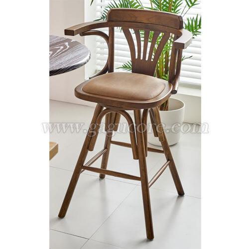보테나빠텐(회전가능)(업소용의자, 카페의자, 인테리어체어, 바의자, 바테이블의자, 목재빠체어, 레스토랑바체어, W52바체어)