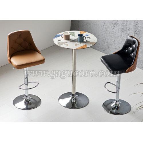 카라멜빠텐(바의자, 바테이블의자, 인테리어바체어, 업소용의자, 카페의자, 스틸체어, W96바체어)
