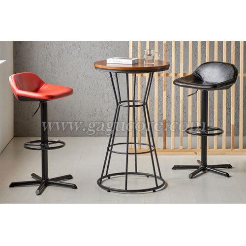 체스트넛빠텐(바의자, 바테이블의자, 인테리어바체어, 업소용의자, 카페의자, 철재체어, 빠텐950)