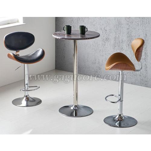하프문빠텐(바의자, 바테이블의자, 인테리어바체어, 업소용의자, 카페의자, 스틸체어, W68바체어)