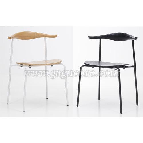 칼프철재체어(업소용의자, 카페의자, 철재의자, 스틸체어, 인테리어의자, 레스토랑체어)